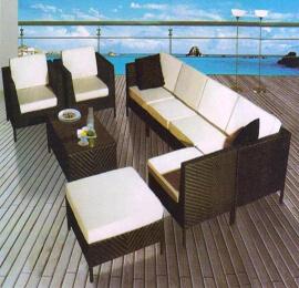 Rattan Sofa Set