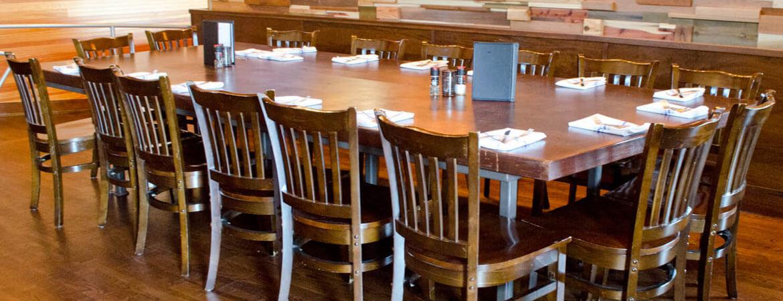 Restaurant furniture table chair